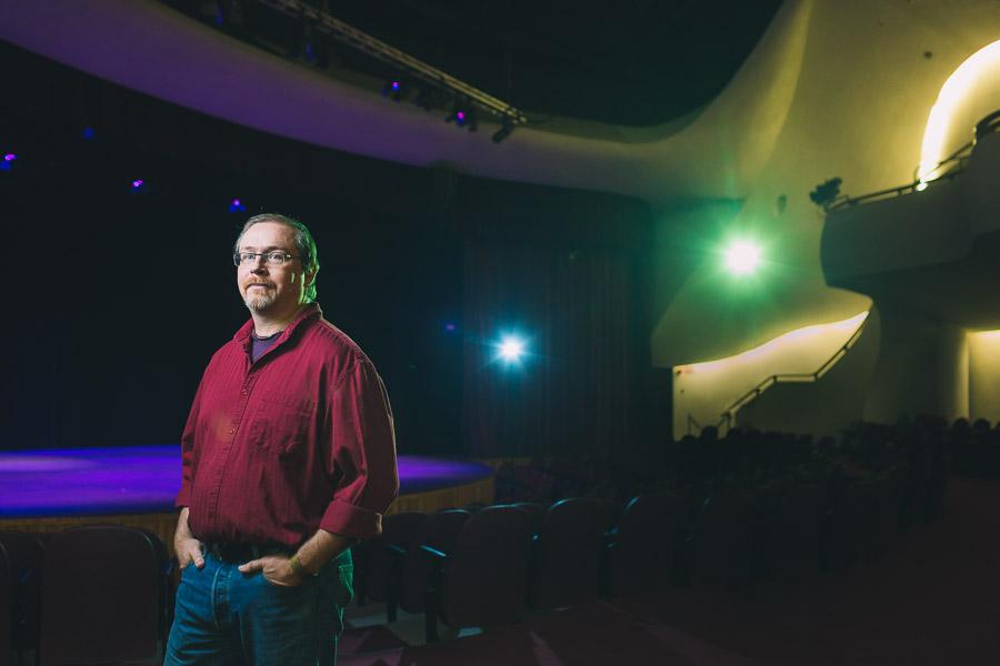 Douglas J. Cardinal Theatre Portraits