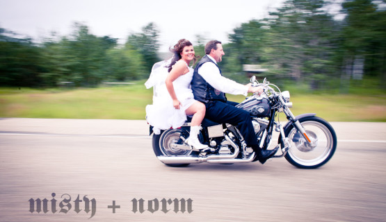 Misty and Norm Wedding Photos