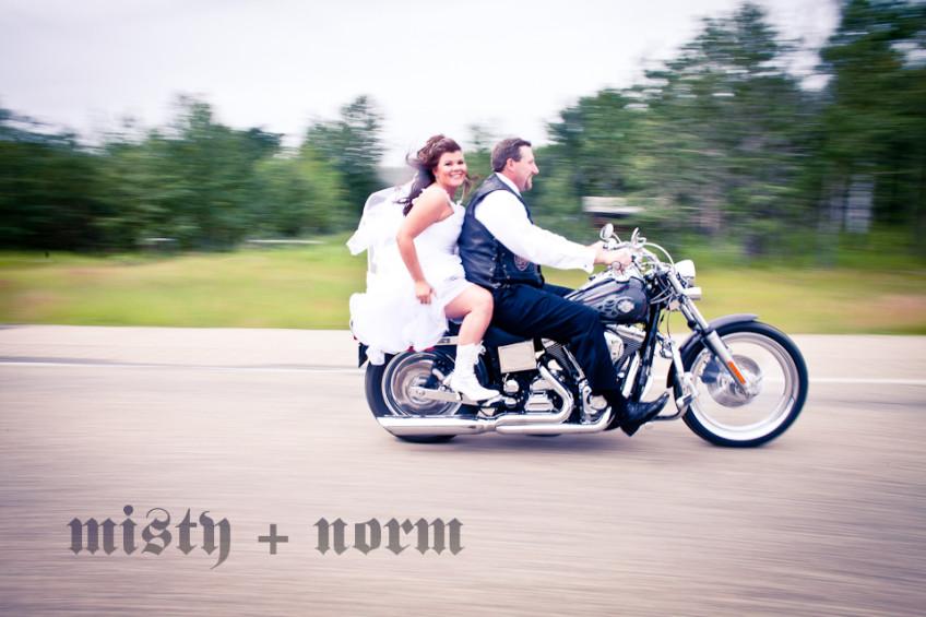 Misty and Norm Wedding Photos