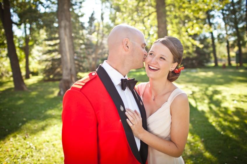 Dunvegan alberta wedding